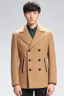拉链口袋大衣