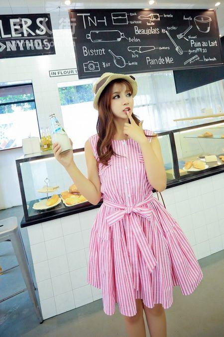 粉色控女生的夏天_20款粉色搭配示范